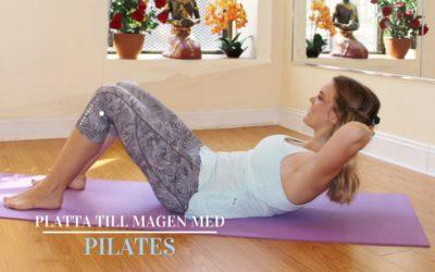Platta till magen med pilates