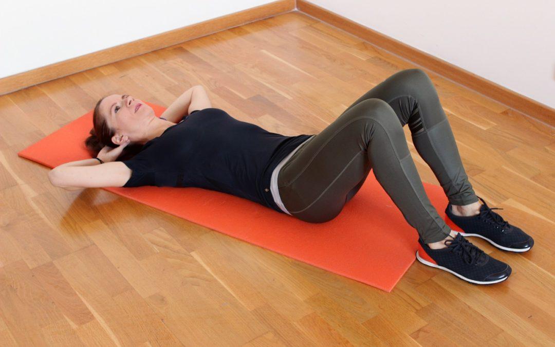 Crunches: 6 magövningar som stärker och tonar magen