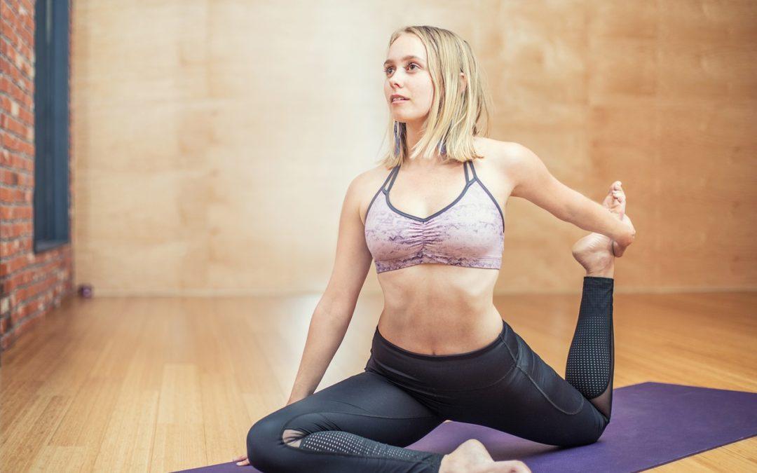 yoga på matta
